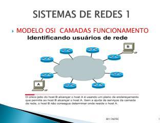 SISTEMAS DE REDES 1