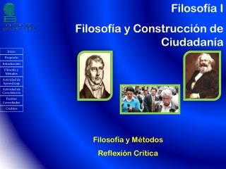 Filosof�a I   Filosof�a y Construcci�n de Ciudadan�a