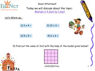 Today we will discuss about the topic: Multiply 2-4 digit by 1 digit