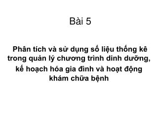 Bài 5