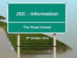 better information --> better decisions --> better health