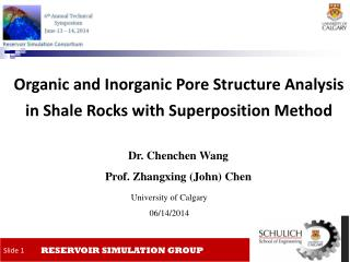 Organic and Inorganic Pore Structure Analysis in Shale Rocks with Superposition Method