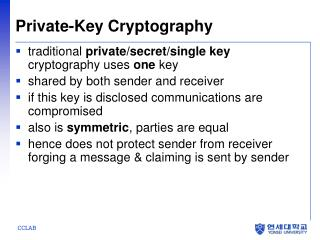Private-Key Cryptography