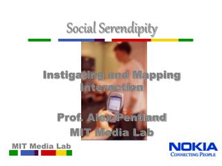 Social Serendipity Instigating and Mapping Interaction