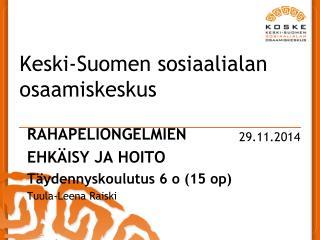 Keski-Suomen sosiaalialan osaamiskeskus