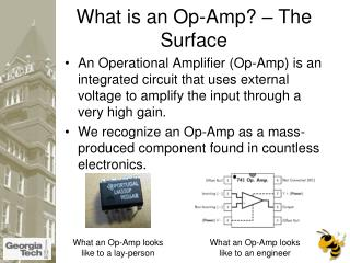 What is an Op-Amp? – The Surface