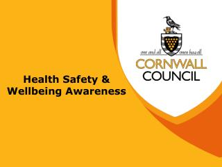 Health Safety & Wellbeing Awareness