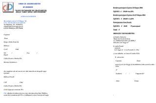 """CORSO  DI  AGGIORNAMENTO III  EDIZIONE """"NUOVE TECNOLOGIE NEL TRATTAMENTO"""