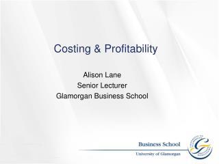 Costing & Profitability