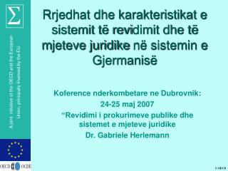 Koference nderkombetare ne Dubrovnik: 24-25 maj 2007