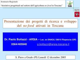 S. Piero a Grado (PI) Lunedì 12 dicembre 2005