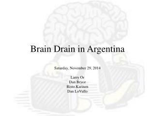 Brain Drain in Argentina