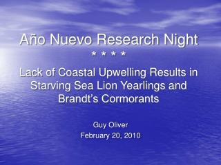 Guy Oliver February 20, 2010