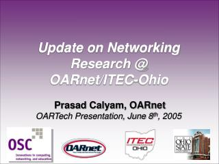 R&D Projects at OARnet