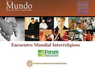 Encuentro Mundial Interreligioso