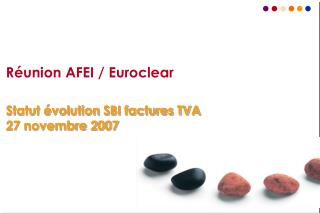 R�union AFEI / Euroclear