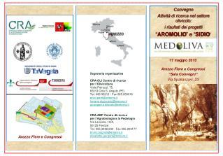 """17 maggio 2010 Arezzo Fiere e Congressi """"Sala Convegni"""" Via Spallanzani, 23"""