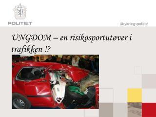 UNGDOM – en risikosportutøver i trafikken !?