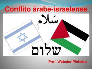 Conflito �rabe-israelense