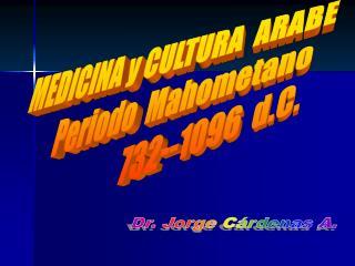 Dr. Jorge C�rdenas A.