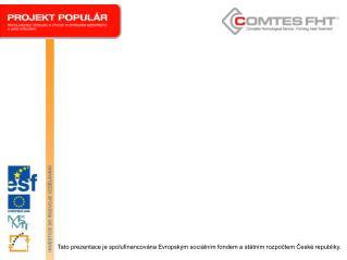 Pravidla pro použití šablon pro projekt  OPVK  - POPULÁR