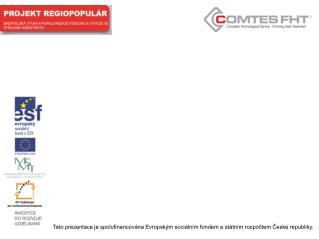 Pravidla pro použití šablon pro projekt  OPVK  -  REGIOPOPULÁR