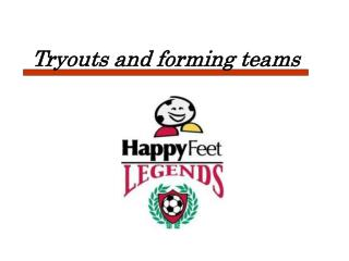 Tryouts and forming teams