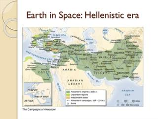Earth in Space: Hellenistic era