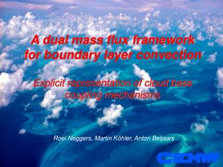 A dual mass flux framework for boundary layer convection