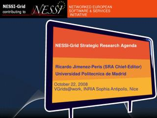 NESSI-Grid Strategic Research Agenda