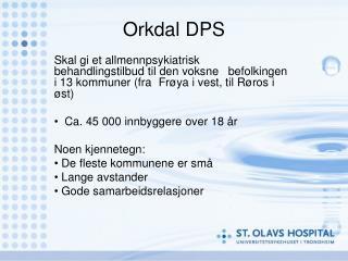 Orkdal DPS