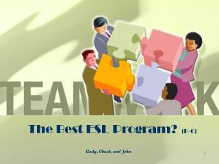 The Best ESL Program? (K-6)