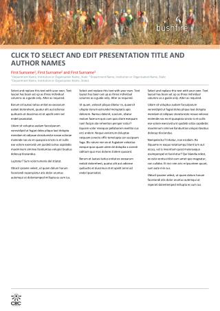 CLICK  TO SELECT AND EDIT  PRESENTATION  TITLE AND AUTHOR NAMES