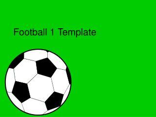 Football 1 Template
