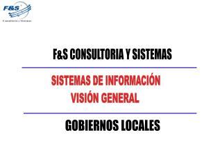 FS CONSULTORIA Y SISTEMAS