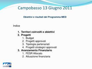 Campobasso 13 Giugno 2011
