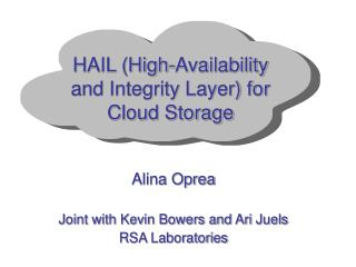 HAIL High-Availability and Integrity Layer for Cloud Storage