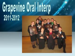 Grapevine Oral Interp
