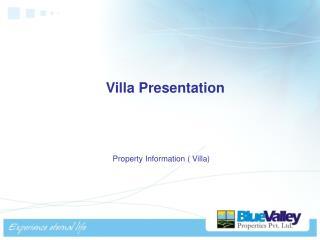 Villa Presentation