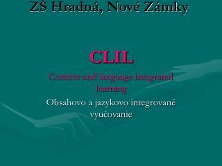 ZŠ Hradná, Nové Zámky