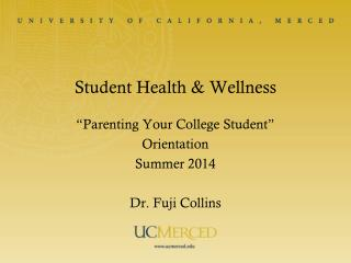 Student Health & Wellness
