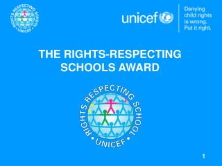 THE RIGHTS-RESPECTING  SCHOOLS AWARD