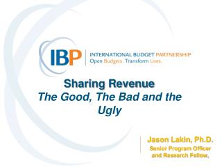 Sharing Revenue  The Good, The Bad and the Ugly