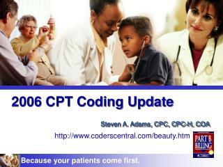 2006 CPT Coding Update