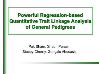 Powerful Regression-based Quantitative Trait Linkage Analysis of General Pedigrees