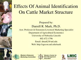 Effects Of Animal Identification On Cattle Market Structure