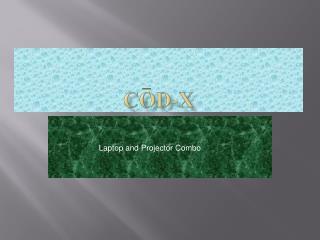 Cod-X