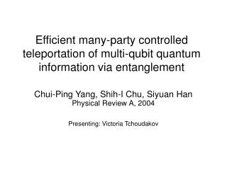 Efficient many-party controlled teleportation of multi-qubit quantum information via entanglement