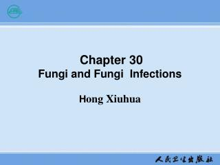 Chapter 30  Fungi and Fungi  Infections H ong Xiuhua
