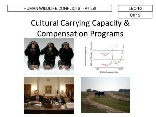 Cultural Carrying Capacity & Compensation Programs